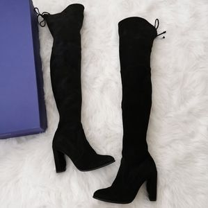 STUART WEITZMAN HIGHLINE OVER THE KNEE BOOTS